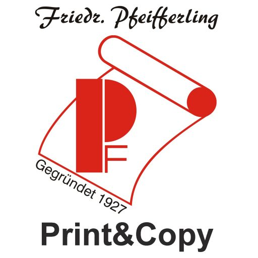 Pfeifferling Print & Copy Logo